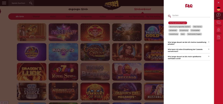 FAQ Casoola Casino