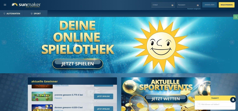 Home Sunmaker Casino