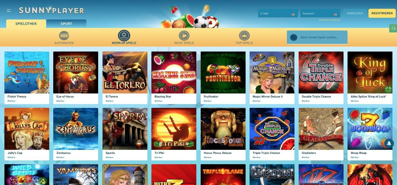 Merkur Sunnyplayer Casino