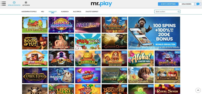 Slots Mr Play Casino
