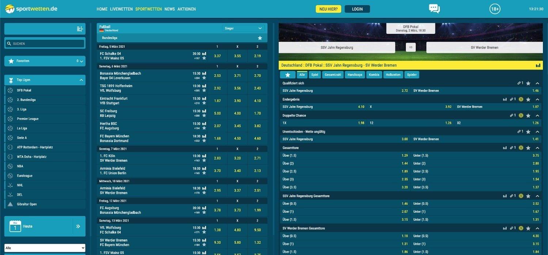Sportwetten.de Bundesligawetten