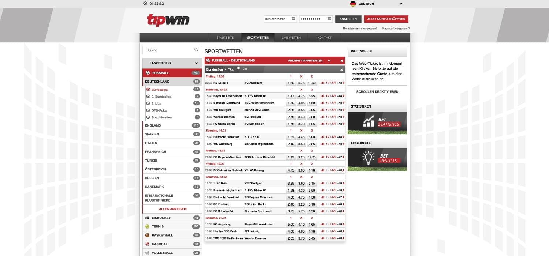 Tipwin Bundesligawetten